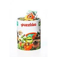 Cubika - Puzzle animale Casuta animalelor Puzzle Copii, piese 20