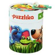Cubika - Puzzle animale Familia potrivita Puzzle Copii, piese 20