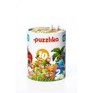 Cubika - Puzzle animale Sa ne numaram prietenii Puzzle Copii, piese 20