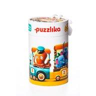 Cubika - Puzzle vehicule Trenuletul vesel Puzzle Copii, pcs  20