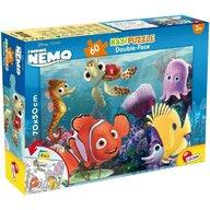 Lisciani - Puzzle personaje Nemo si pietenii Maxi, Cu desen de colorat Puzzle Copii, piese 60
