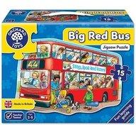 Orchard Toys - Puzzle de podea Autobuzul Big Bus, 15 piese