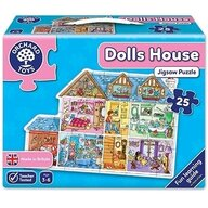 Orchard Toys - Puzzle de podea Casa Dolls house Jigsaw, 25 piese