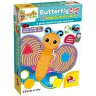 LISCIANI - Puzzle de podea - Fluturas cu forme si culori (29 piese)
