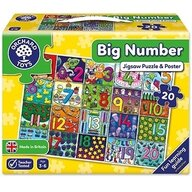 Orchard Toys - Puzzle de podea Invata numerele de la 1 la 20