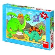 Dino - Toys - Puzzle zauri prietenosi 48 piese