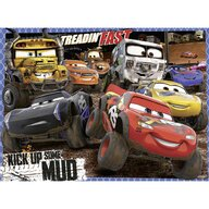 Ravensburger - Puzzle personaje Disney Cars Puzzle Copii, piese 100