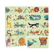 Headu - Puzzle animale Domino Puzzle Copii, piese 24