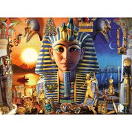 Ravensburger - Puzzle personaje Faraon Puzzle Copii, piese 300