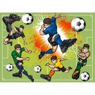 Ravensburger - Puzzle personaje Fotbalisti Puzzle Copii, piese 100