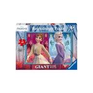 Ravensburger - Puzzle Frozen II Elsa&Anna, 60 piese