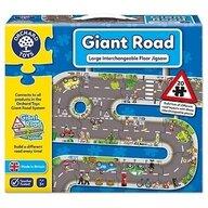 Orchard Toys - Puzzle gigant de podea traseu masini, 20 piese