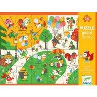 Djeco - Puzzle gigant in parc