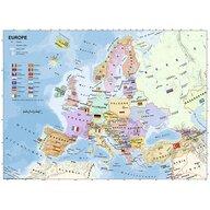 Ravensburger - Puzzle educativ Harta Europei Puzzle Copii, piese 200