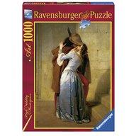 Ravensburger - Puzzle Hayez: Sarutul, 1000 piese