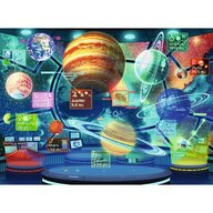 Ravensburger - Puzzle educativ Holograma planetelor Puzzle Copii, piese 300