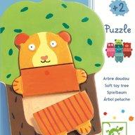 Djeco - Puzzle lemn Copacelul vesel