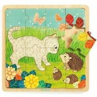 Djeco - Puzzle lemn Garden