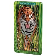 Puzzle magnetic holografic Tigru