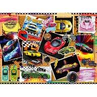 Ravensburger - Puzzle vehicule Masini de curse Puzzle Copii, piese 100
