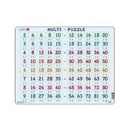 Larsen - Puzzle maxi Inmultiri cu acelasi numar, orientare tip vedere,  80 de piese,