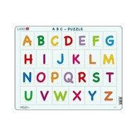 Larsen - Puzzle maxi Literele mari ale alfabetului  orientare tip vedere  26 de piese