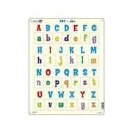 Larsen - Puzzle maxi Literele mari si mici ale alfabetului  orientare tip portret  26 de piese