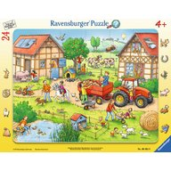 Ravensburger - Puzzle Mica mea ferma, 24 piese