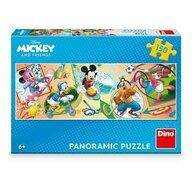 Dino - Puzzle personaje Mickey si prietenii la ora de sport Puzzle Copii, piese 150