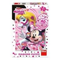 Dino - Puzzle personaje Minnie si calutul Puzzle Copii, piese 200