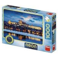 Dino - Toys - Puzzle Neon - Castelul Praga (1000 piese)