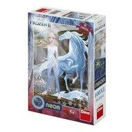 Dino - Puzzle personaje Frozen II Calul de gheata XL Puzzle Copii, pcs  100