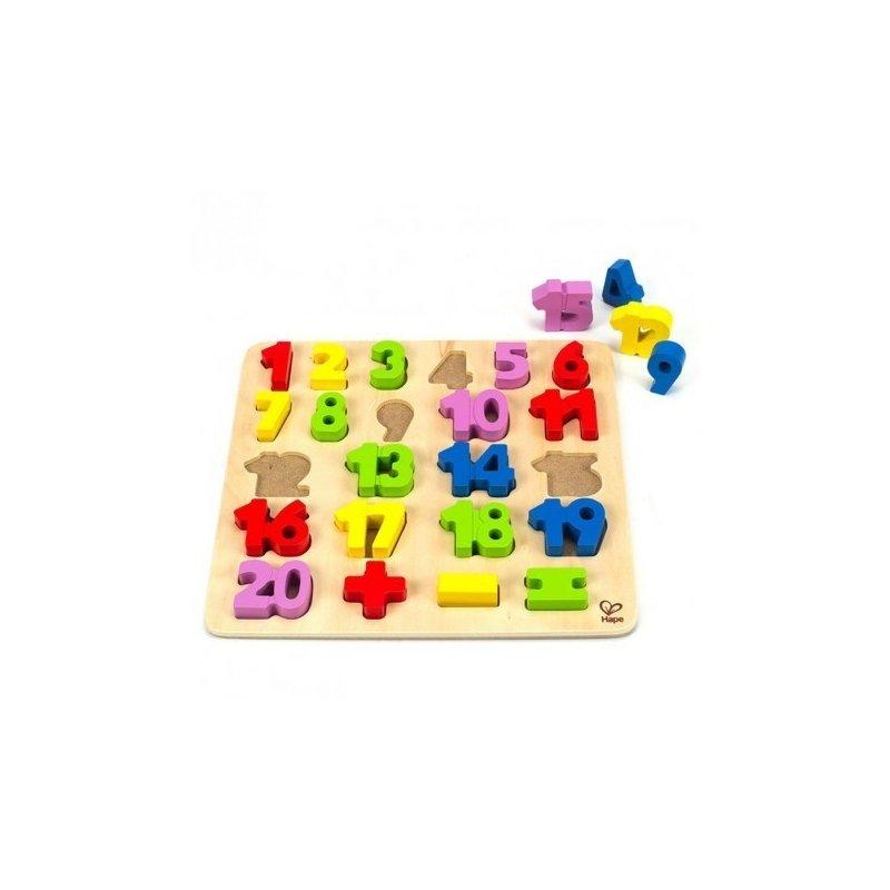 Puzzle – Numere – HAPE din categoria Puzzle copii de la Hape