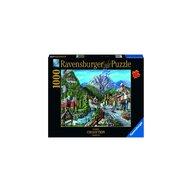 Ravensburger - PUZZLE ORASUL BANFF, 1000 PIESE