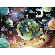 Ravensburger - Puzzle educativ Planete Puzzle Copii, piese 100