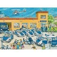 Ravensburger - Puzzle vehicule Politie Puzzle Copii, piese 100