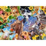 Ravensburger - Puzzle animale Portret cu animale Puzzle Copii, piese 200