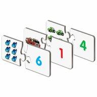 THE LEARNING JOURNEY - Puzzle educativ Potriveste cifrele numarand Puzzle Copii, piese 60