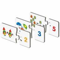 THE LEARNING JOURNEY - Puzzle educativ Potriveste cifrele socotind Puzzle Copii, piese 60