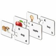THE LEARNING JOURNEY - Puzzle educativ Potriveste imaginile cu denumirile In limba engleza Puzzle Copii, piese 26