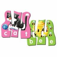 THE LEARNING JOURNEY - Puzzle educativ Potriveste literele In limba engleza Puzzle Copii, piese 60