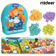 Mideer - Puzzle poveste – Alice in tara minunilor, 36 piese  MD3058
