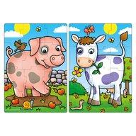 Orchard Toys - Puzzle animale Prieteni de la Ferma Puzzle Copii, piese12