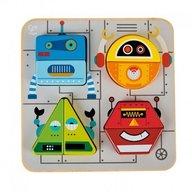 Hape - Puzzle Roboti
