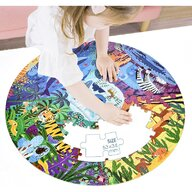 Mideer - Puzzle rotund Animale, 150 piese  MD3099