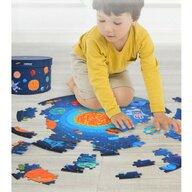 Mideer - Puzzle rotund Spatiu, 150 piese  MD3082
