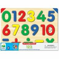 THE LEARNING JOURNEY - Puzzle educativ Sa invatam numerele Puzzle Copii, piese 16