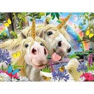 Ravensburger - Puzzle personaje Selfie cu unicornii Puzzle Copii, piese 100