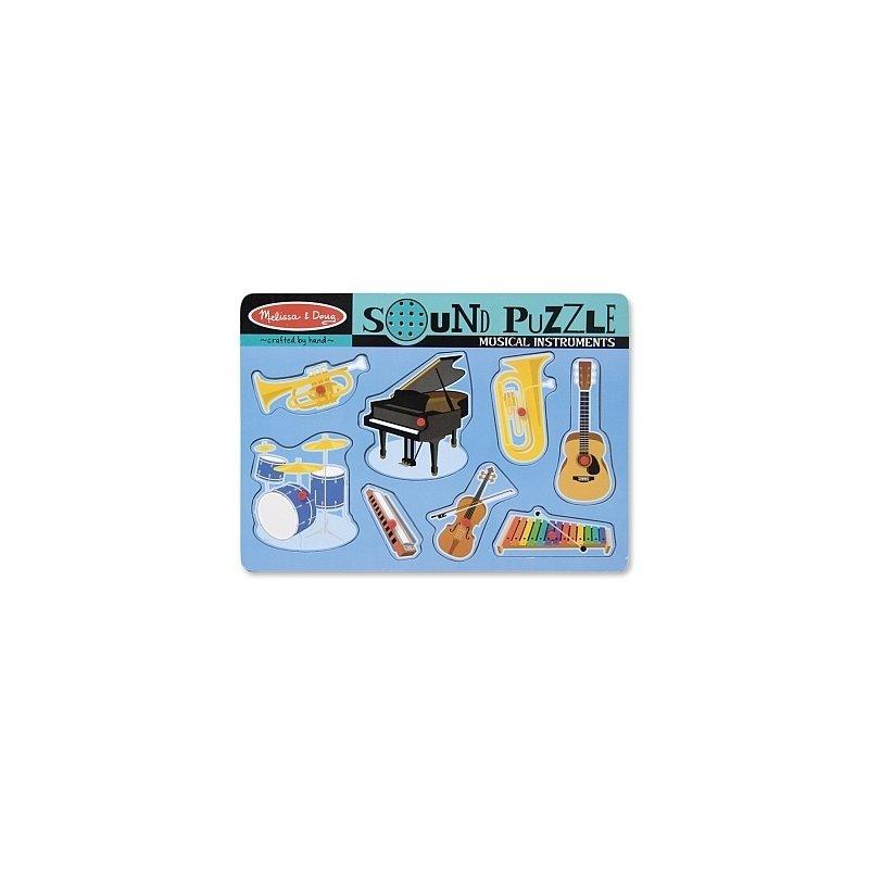 Puzzle sonor Instrumente muzicale Melissa and Doug din categoria Puzzle copii de la Melissa & Doug