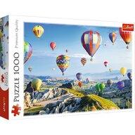 Trefl - Puzzle peisaje Cappadoccia Baloane cu aer cald Puzzle Adulti, pcs  1000, Multicolor